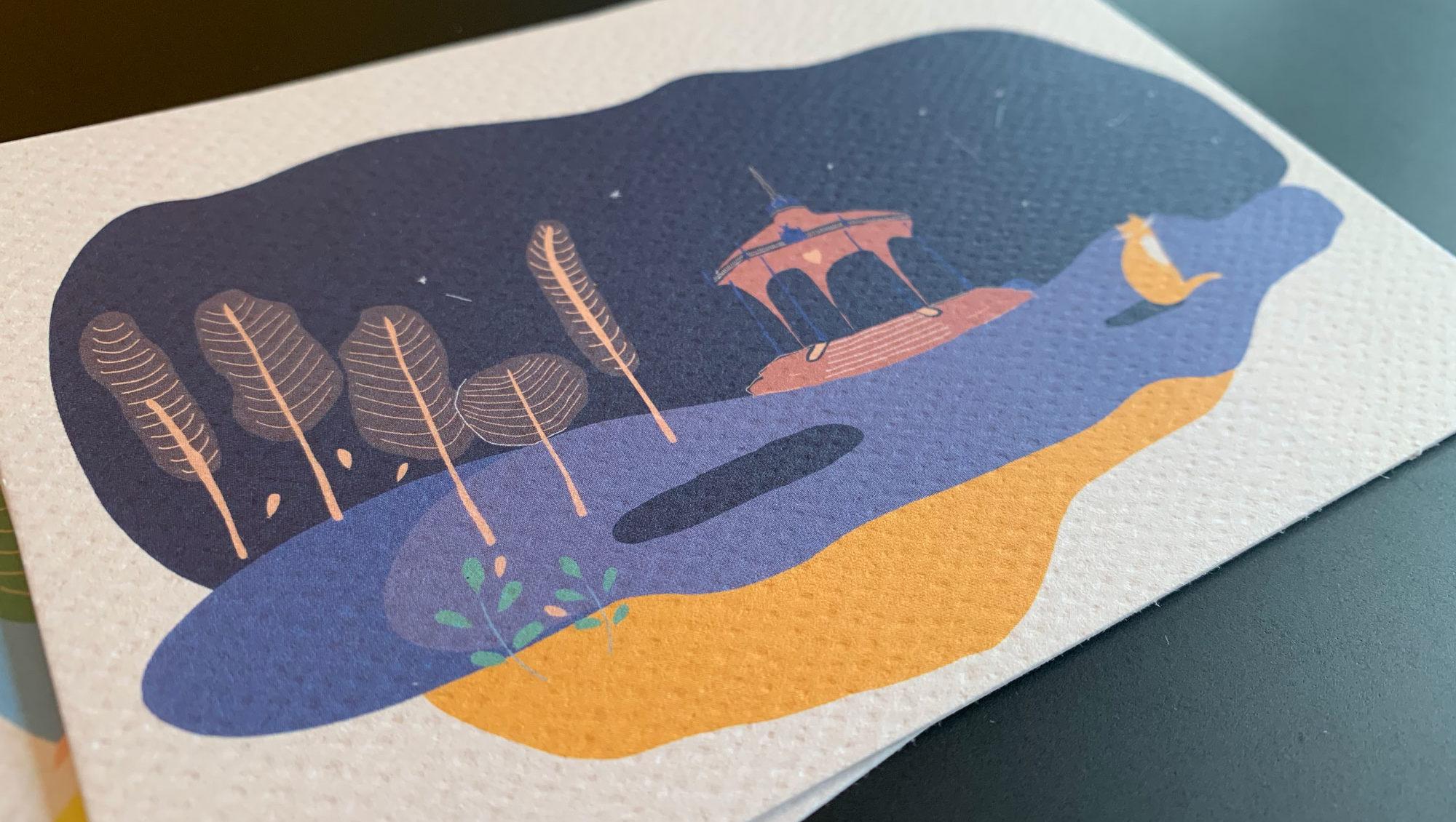 Nouveau dans la boutique : Cartes Postales Illustrées